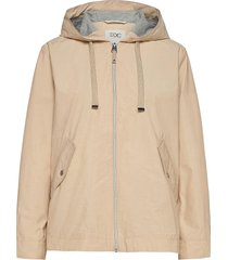 jackets outdoor woven zomerjas dunne jas bruin edc by esprit
