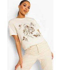 oversized kerub t-shirt, ecru
