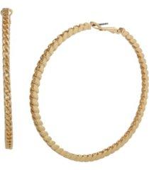jessica simpson chain hoop earrings