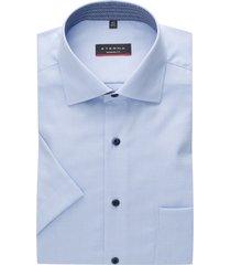 eterna overhemd korte mouw modern fit lichtblauw