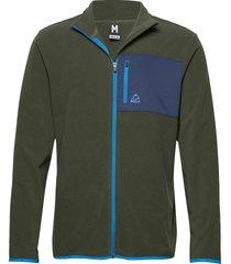 fleece jacket sweat-shirt tröja grön bula