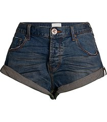 bandits rolled cuff denim shorts