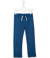bonpoint gregory twill trousers - blue