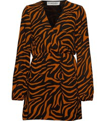 balloon sleeve dress korte jurk multi/patroon ivyrevel