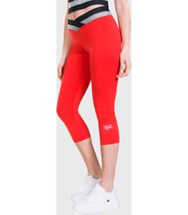 legging everlast long free spirit  rojo - calce ajustado