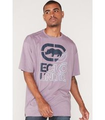 camiseta ecko plus size estampada masculino - masculino