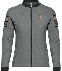 impel full zip sweat-shirt trui grijs johaug