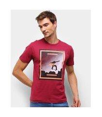 camiseta hd neon sk8 masculina