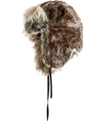 stetson men's faux-fur trapper hat, created for macy's