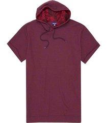 camiseta silueta oversize con capota para hombre freedom 00773