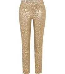 pantaloni in fantasia dorata (oro) - bodyflirt boutique