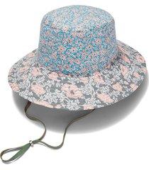 floral patch sun hat