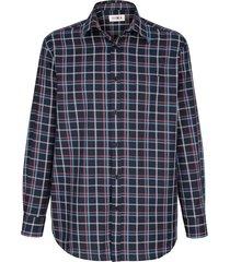 overhemd roger kent marine::roze::blauw