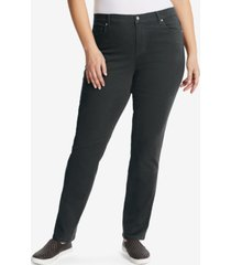 gloria vanderbilt plus size amanda average length jeans
