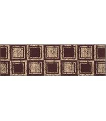 passadeira 1,5m veludo pa-16 tabaco - marrom - dafiti