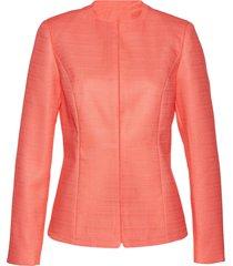 blazer in tessuto bouclé (arancione) - bpc selection