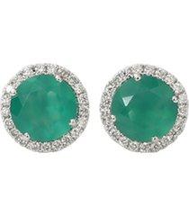 anna beth green onyx stud earrings