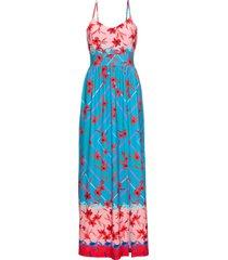 abito con spacco (blu) - bodyflirt boutique