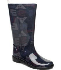 shoes mid rain boot desi regnstövlar skor multi/mönstrad desigual shoes