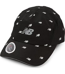 textured logo baseball cap