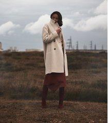 reiss scarletta - wool blend teddy coat in neutral, womens, size 10