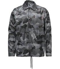aop coach jacket regenkleding grijs rains
