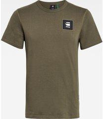 g-star d18197 c336 badge logo t-shirt 723 combat army -