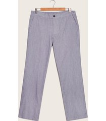 pantalon  preteñido azul 36