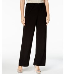 alex evenings wide-leg petite pants
