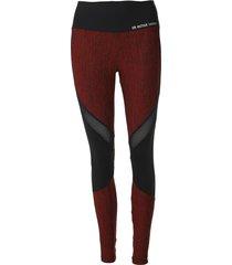 legging costa rica estampada vermelho/preto