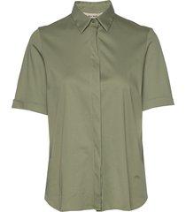 marta jersey shirt ss blouses short-sleeved groen mos mosh