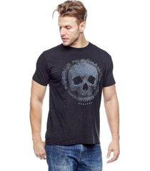 camiseta evolvee brightness skull masculina - masculino