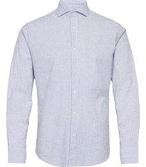bs fosu skjorta casual blå bruun & stengade