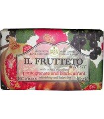 il frutteto romã com pêssego nesti dante - sabonete frutal em barra 250g