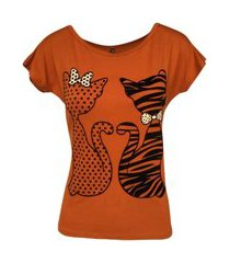 t-shirt estampa gato manga japonesa