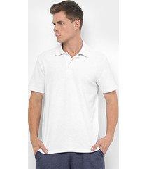 camisa polo burn piquet masculina