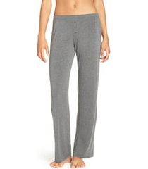 women's pj salvage jersey pajama pants, size x-small - grey