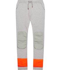 oilily helder grijze sweatpants- turquoise