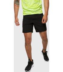 pantaloneta negro-verde adidas performance