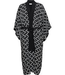 kimonah. morgonrock svart by malene birger