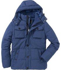 giacca trapuntata invernale con cappuccio (blu) - bpc bonprix collection