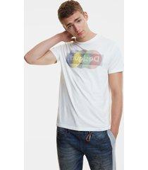 arty logo t-shirt - white - xxl