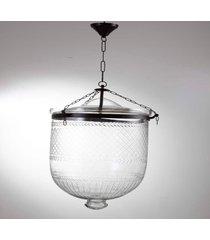 suporte vela pendente- pashmina- vidro- transparente