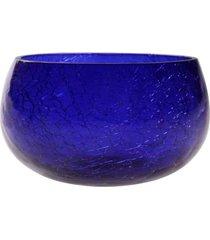 cachepot vela- pashmina- craquelad- azul