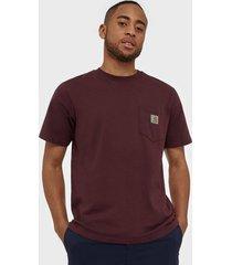 carhartt wip s/s pocket t-shirt t-shirts & linnen shiraz