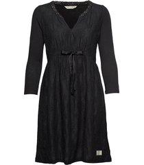 leaving happier dress knälång klänning svart odd molly