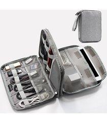 borsa multifunzionale oxford multi-tasca ipad store bag data line digital storage bag