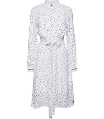 nuailish dress knälång klänning vit nümph