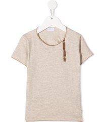 violeta e federico short sleeve t-shirt - brown