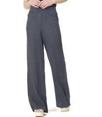 pantalón lino italiano azul bous